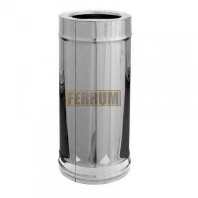 Сэндвич дымохода (нержавеющая сталь 0,5 мм + оцинкованная сталь) L=0,5 Ф120х200