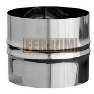 Адаптер дымохода ПП нержавеющая сталь (0,5 мм) Ф125