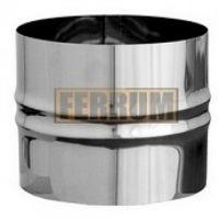 Адаптер дымохода ПП нержавеющая сталь (0,8 мм) Ф130
