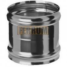 Адаптер дымохода ММ (нержавеющая сталь 0,5 мм) Ф130