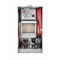 Настенный газовый компактный двухконтурный котел с открытой камерой сгорания, 24 кВт