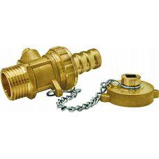 Дренажный Кран шаровой с пробкой 1/2 наружная резьба EU.ST1058035 12 (Арт.:EU.ST1058035 12)