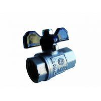 Кран шаровой Comfort (ручка-бабочка) 3/4 внутренняя - внутренняя резьба EU.SD8003034 34 (Арт.:EU.SD8003034 34)