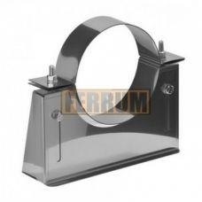 Кронштейн стеновой для дымохода раздвижной №1 (нержавеющая сталь 1,0 мм) Ф125