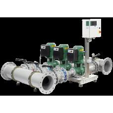 Высокоэффективная, автоматическая, готовая к подключению установка WILO SiFlux 21-IL-E 65/160-7,5/2-SC-16-T4