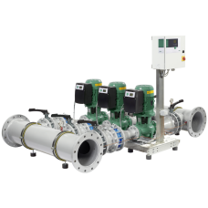 Высокоэффективная, автоматическая, готовая к подключению установка WILO SiFlux 21-IL-E 80/140-7,5/2-SC-16-T4