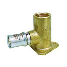 Настен.пресс-уголок ВР1/2х16 h=43mm AP154L 12x16 (Арт.:AP154L 12x16)