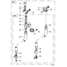 Комплект соединительных трубопроводных элементов котел DTG 130-водонагреватель BH 150 DTX 89997049 (Арт.:DTX 89997049)