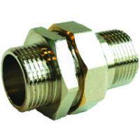 Сгон прямой с накидной гайкой 2 внутрення-наружняя резьба EU.ST3046085 2 (Арт.:EU.ST3046085 2)