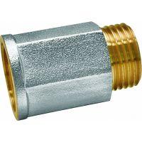 Удлинитель 1/2 x 15мм внутренняя - наружная резьба EU.ST3271025 12х15 (Арт.:EU.ST3271025 12х15)