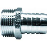 Штуцер для присоединения шланга 1/2 x 18 мм наружняя резьба EU.ST3040330 12х18 (Арт.:EU.ST3040330 12х18)