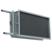 Водяной нагреватель для прямоугольных каналов WHR 1000*500-2